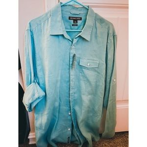 Michael Kors Long Sleeve button down shirt